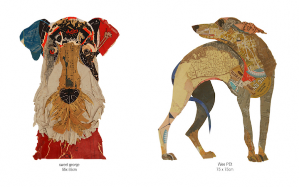Adorable Dog Collage Art-11