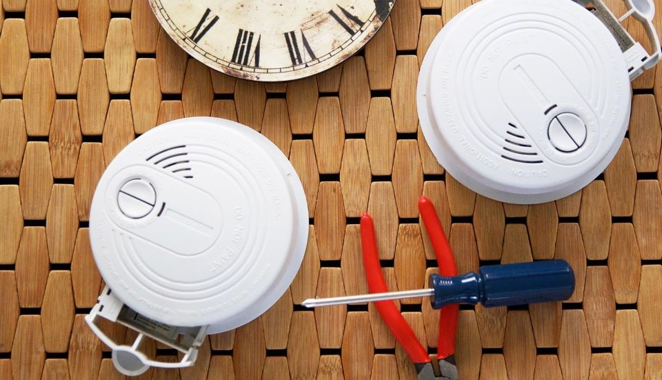 Smoke Alarms and clocks