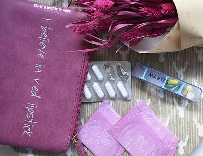 Qué llevo en mi neceser del bolso: farmacia y cuidado personal