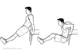 bench dips by bodytrick