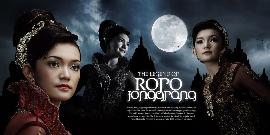 roro jonggrang The story of roro jongrang roro jonggrang was a very beautiful princess from prambanan kingdom, hundred years ago her famous beauty was known throughout the country, and princes from far.