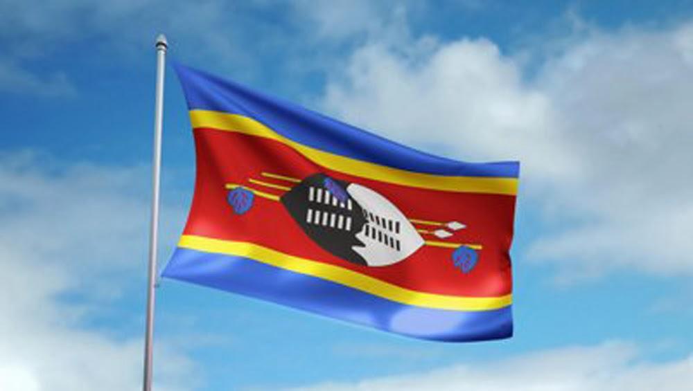 3d Broken Glass Wallpapers Graafix Flag Of Swaziland