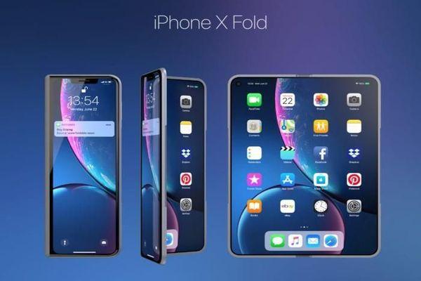 براءة اختراع تكشف عن خطط آبل لتصميم هاتف قابل للطي