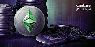 Robinhood و Coinbase تسهمان في رفع أسعار العملات الرقمية