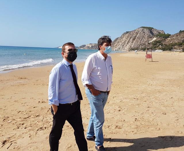 Il candidato sindaco Peppe Zambito incontra il ministro Giuseppe Provenzano