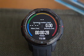 Honor Watch GS Pro Pantalla Actividad