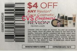 """$4.00/1 Revlon any Face Cosmetic Coupon from """"SMARTSOURCE"""" insert week of 6/9"""