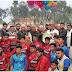 শাজাহানপুরে ক্ষুদ্র কল্যাণ সংগঠনের ফুটবল টুর্ণামেন্টের ফাইনাল খেলা অনুষ্ঠিত।