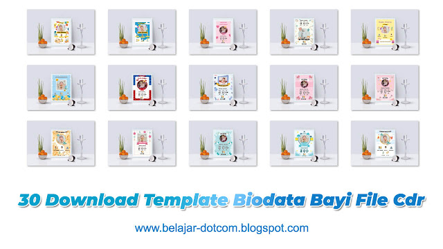 30 Download Template Biodata Bayi File Cdr