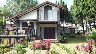 villa di lembang,villa di bandung,villa istana bunga
