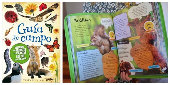 los mejores libros informativos para niños, libros conocimientos guía campo