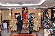 Panglima TNI Terima Kunjungan Kehormatan Duta Besar FIJI