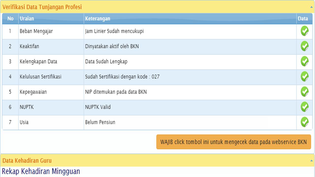 Info GTK Semester 1 Sudah Bisa Dilihat, Ayo Cek Status Validasi Anda