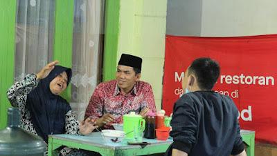 Ade Utami Ibnu Sampaikan Keluhan Pedagang Kecil Ke Plh Walikota Bandar Lampung