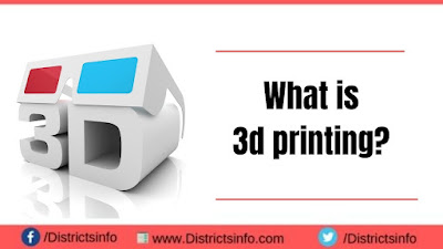 What is 3d printing ?