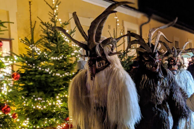 Salzburg in December: Krampus at Schloss Hellbrunn