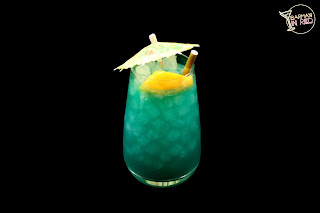 ron cocktail paradise blue