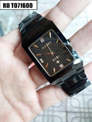 đồng hồ nam mặt vuông, đồng hồ nam mặt chữ nhật RD T071600