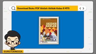 download ebook pdf  buku digital akidah akhlak kelas 8 mts