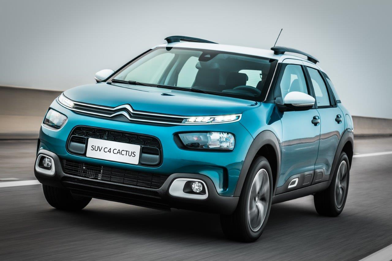 """b4da0481b55e1 Produzido e desenvolvido no Brasil, o Novo SUV Citroën C4 Cactus representa  a nova assinatura da marca """"Inspired By You"""", tem silhueta mais dinâmica e  ..."""