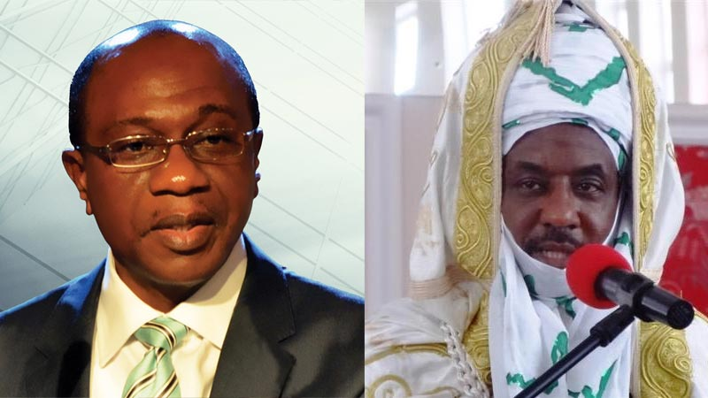 Stop lying - CBN governor Emefiele berates Emir Sanusi