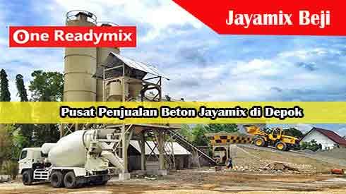 Harga Jayamix Beji, Jual Beton Jayamix Beji, Harga Beton Jayamix Beji Per Mobil Molen, Harga Beton Cor Jayamix Beji Per Meter Kubik Murah Terbaru 2021