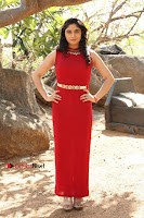 Telugu Actress Zahida Sam Latest Pos in Red Gown at RF Films New Movie Opening  0159.JPG