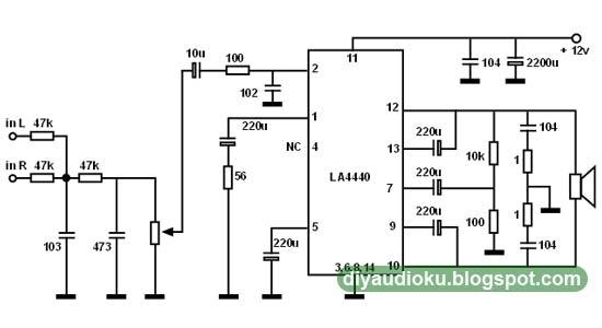 DIY Audio Elektronika: Rangkaian Subwoofer Menggunakan