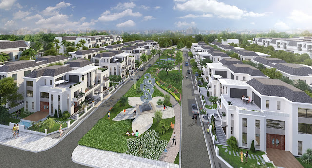 Dự án mặt đường 7a - khu nhà ở Hưng Phát An Điền