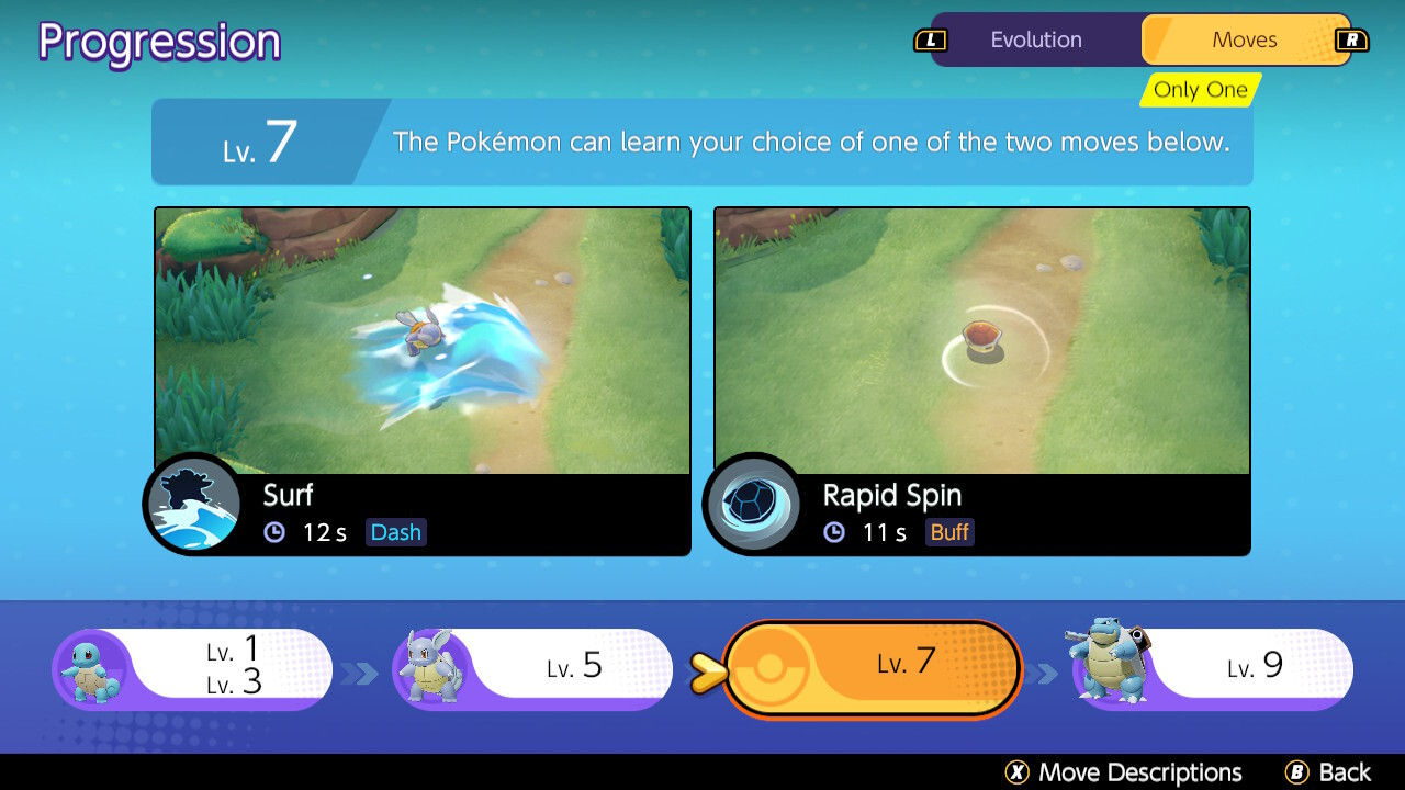 How do Pokémon evolve and what are the Unite Move?