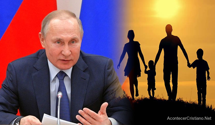 "Presidente ruso Vladimir Putin rechaza ""progenitor 1 y 2"""