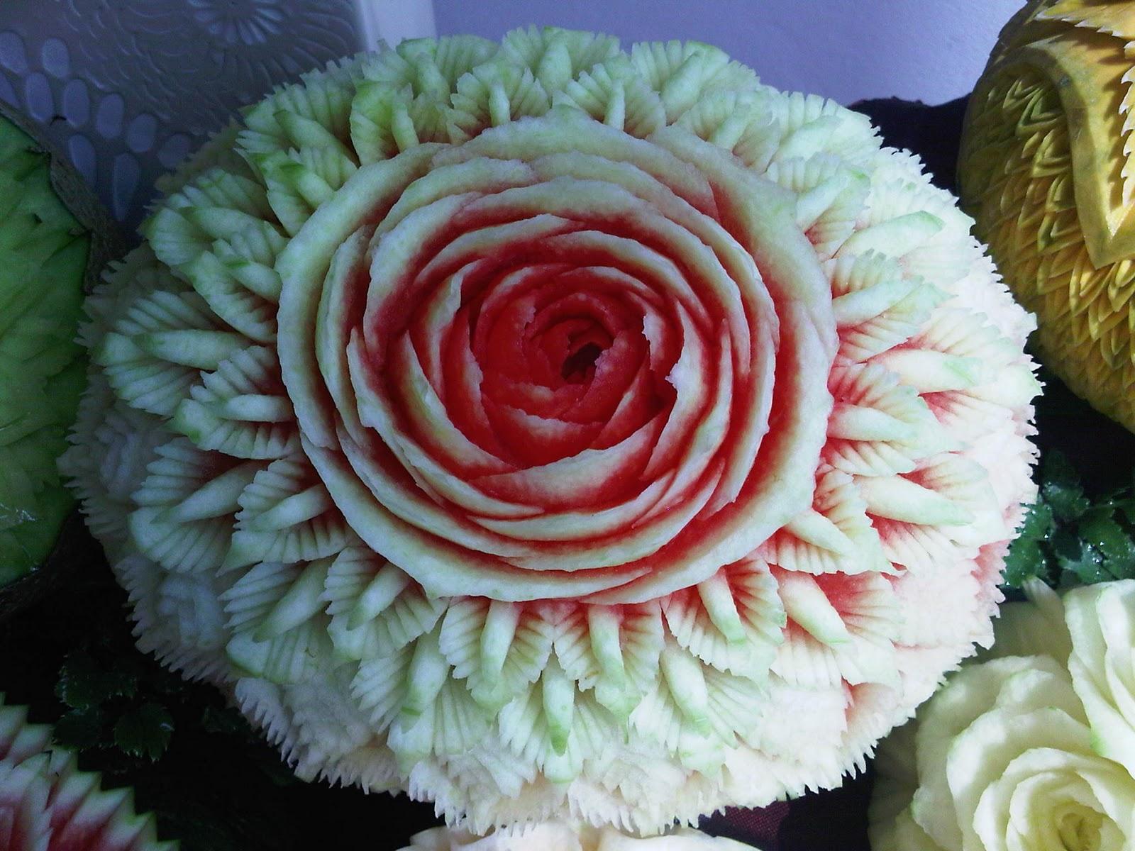 Fruit Plate Decoration
