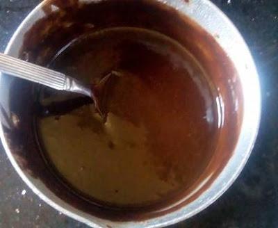 كيكة الشوكولاتة بالغناش
