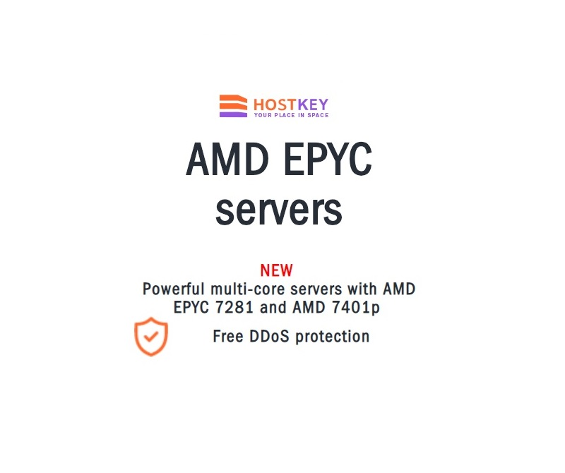 AMD EPYC Powered Servers Now Available on HOSTKEY
