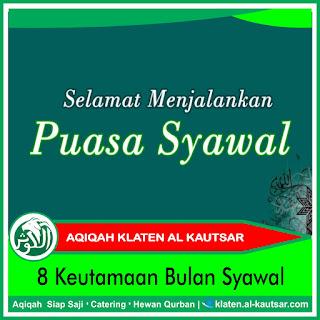 8 Keutamaan Bulan Syawal