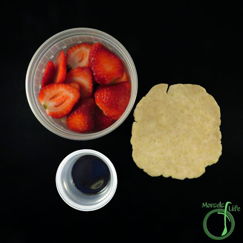 Morsels of Life - Balsamic Strawberry Galette Step 1 - Gather all materials.