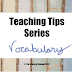 Vocabulary Instruction - The Literacy Channel