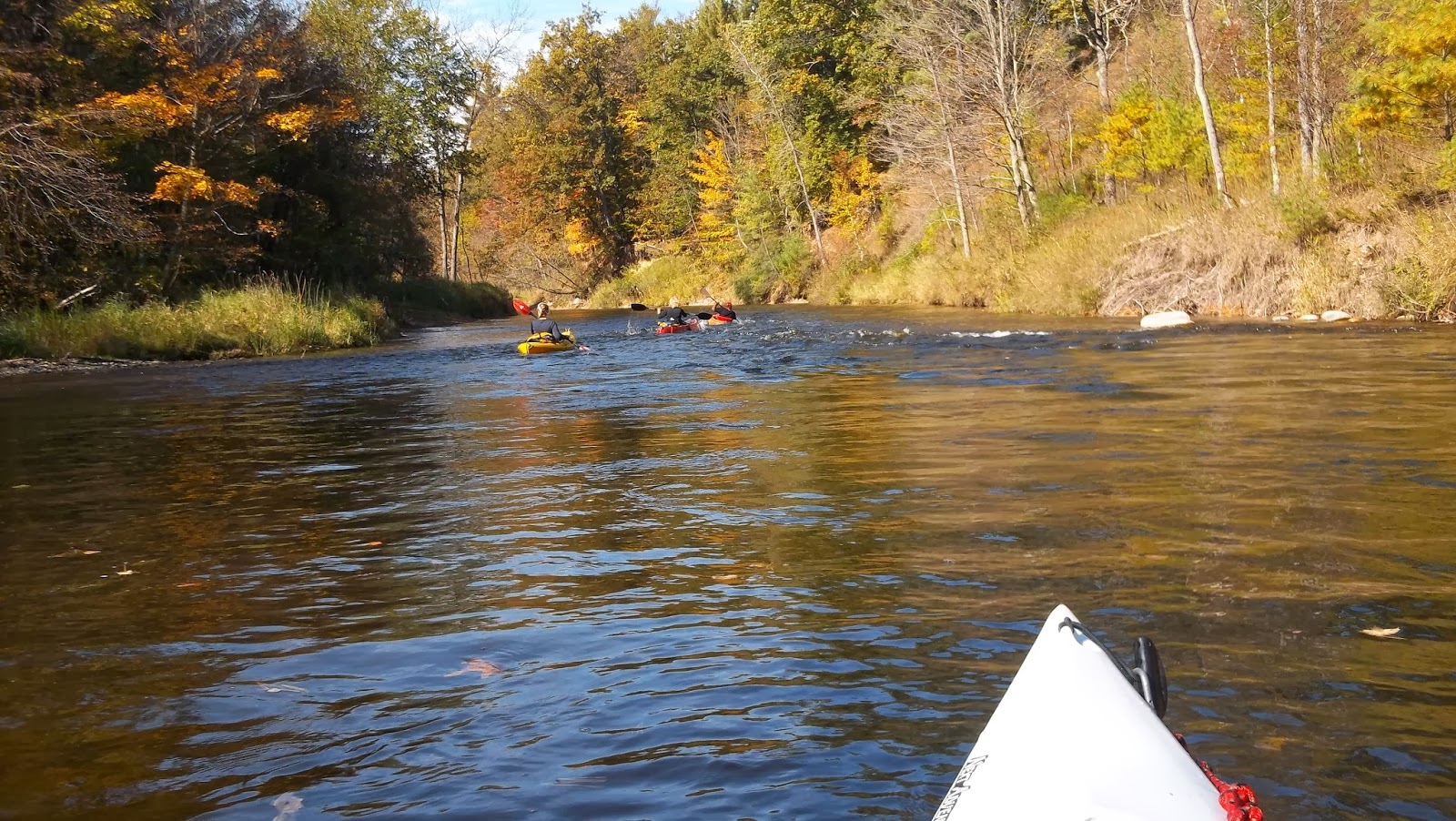 Kayaking Michigan Rivers: Little Muskegon River - Daggett