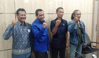 Ketua Komisi C Kecewa, Dinas Pu Binamarga, LPSE dan Rekanan