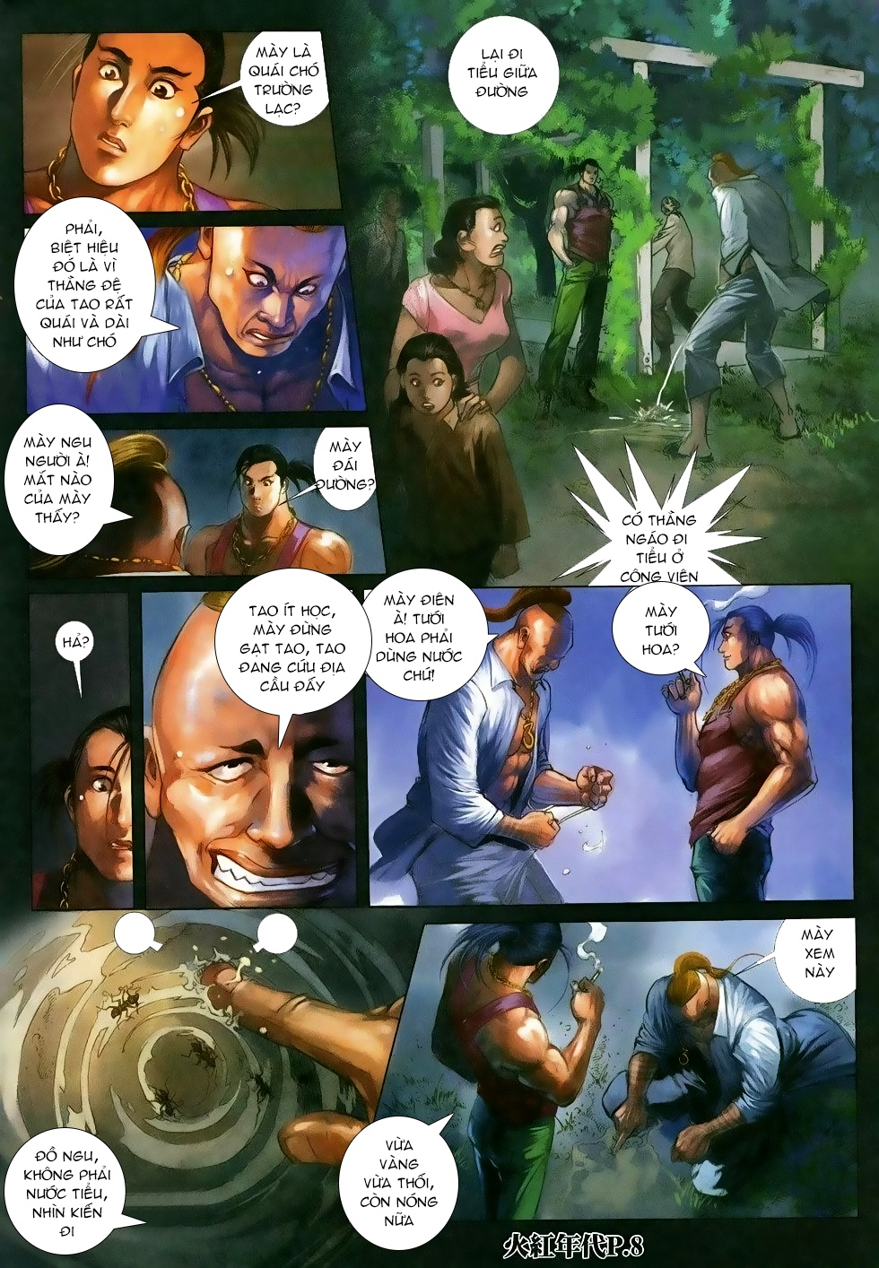 Hỏa Hồng Niên Đại Hắc Cốt Đường Chap 118 - Trang 6