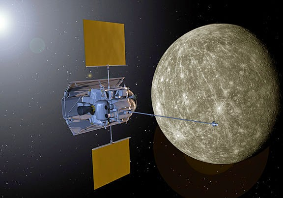Suburban spaceman: NASA's Messenger: Mercury's magnetic ...