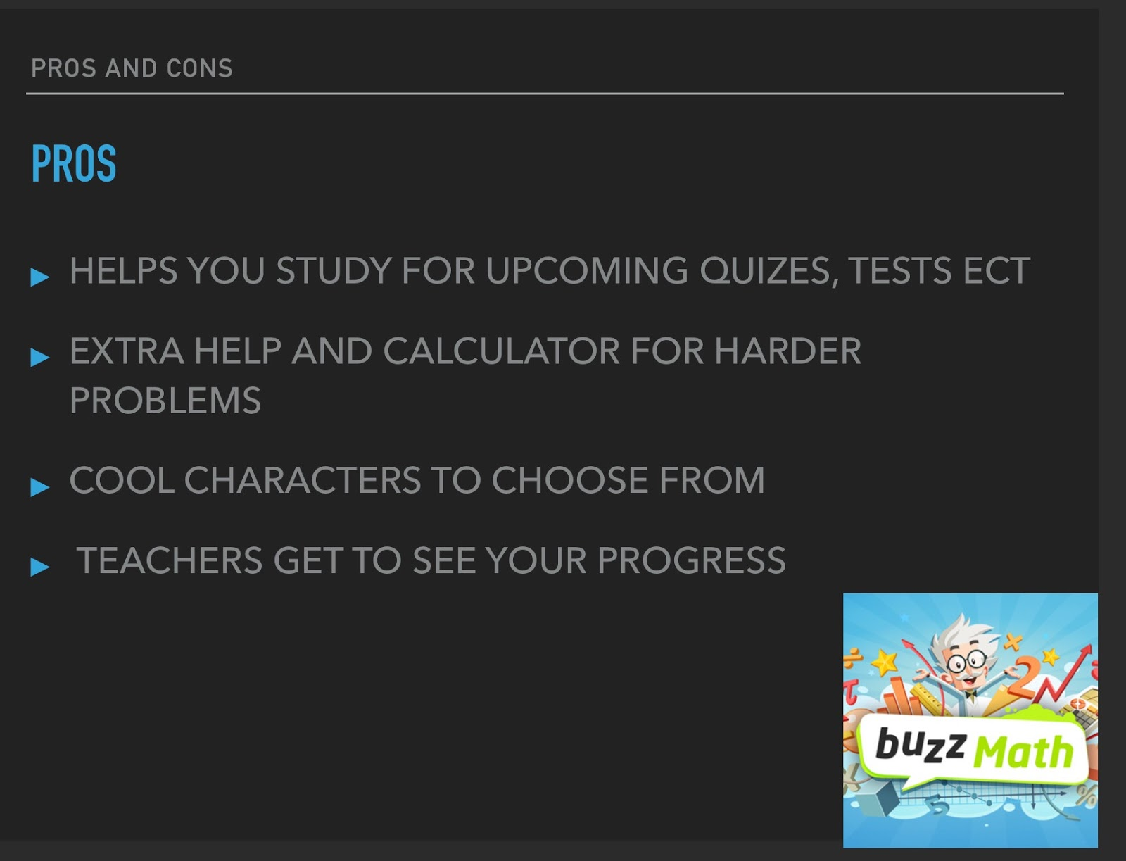 Marshall Simonds Middle School Help Desk: Buzz Math by Lily