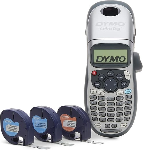 Review DYMO Label Maker with 3 Bonus Labeling Tapes