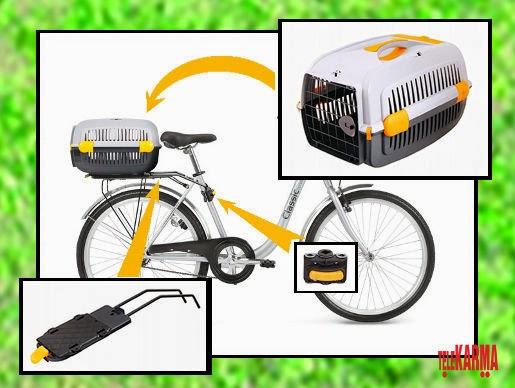 Transporter rowerowy Aquael Pet Inn dla psów i kotów