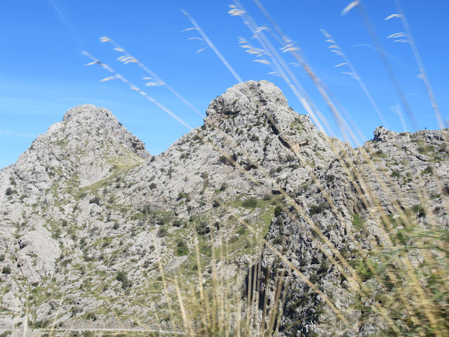 auf der Fahrt nach Sa Calobra Mallorca Balearen Spanien