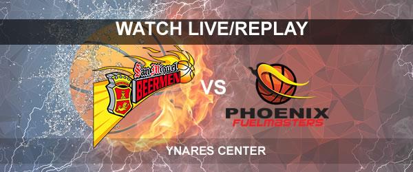 List of Replay Videos SMB vs Phoenix September 20, 2017 @ Ynares Center