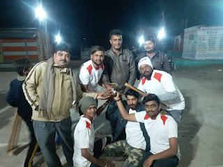 द्वितीय जेपीएल 2 प्लास्टिक बॉल क्रिकेट टूर्नामेंट मैं दादा केसरिया नाथ के दीवाने टीम रही विजेता