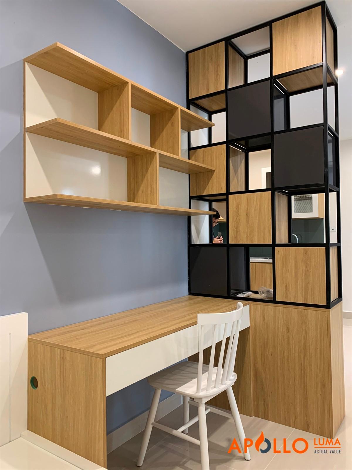 Bàn giao nội thất căn hộ 43m2 (1PN+1) tòa S1.03 Vinhomes Ocean Park