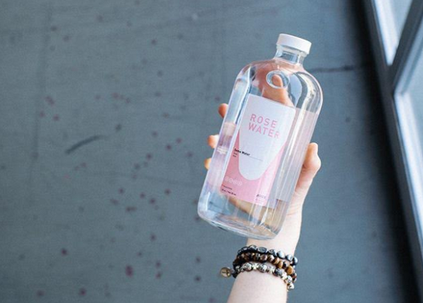 The benefits of drinking rose water for women