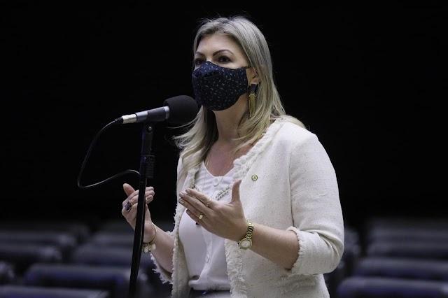 A Deputada Aline Sleutjes é a nova vice-líder do governo no Congresso Nacional